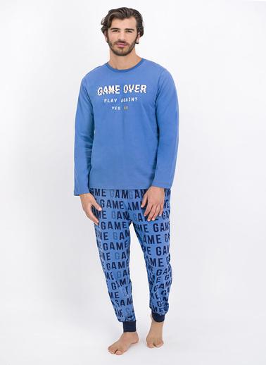 Roly Poly Pijama Takım İndigo